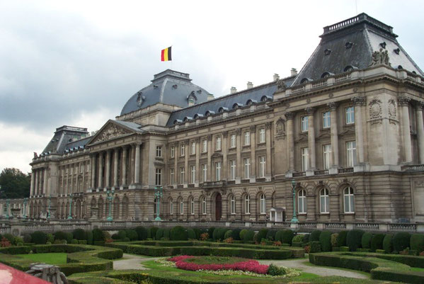 Königlicher Stadtpalast in Brüssel