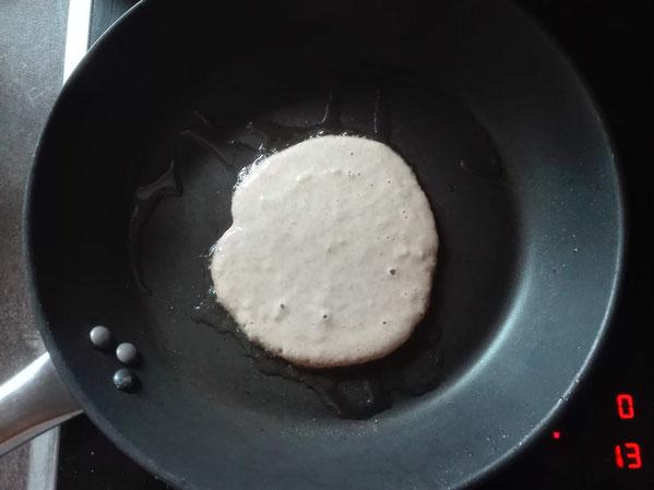 Gesunde Pancakes Zubereitung