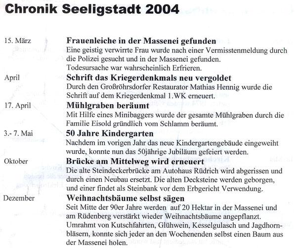 Bild: Teichler Seeligstadt Chronik 2044