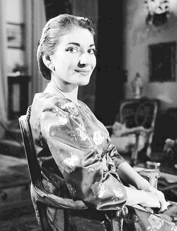 マリア・カラス(1923−1977年)  Wikimedia