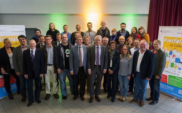 Alle Akteure von Demokratie leben in Celle 2015