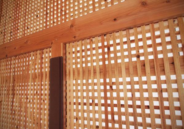 木小舞 土壁
