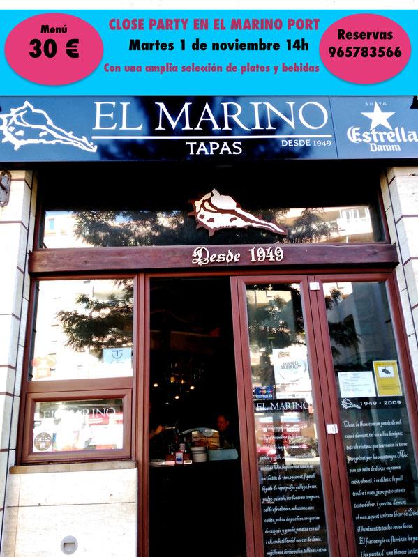 Dénia está de enhorabuena. El Marino Port cierra temporada a lo grande con la Close Party del día 1