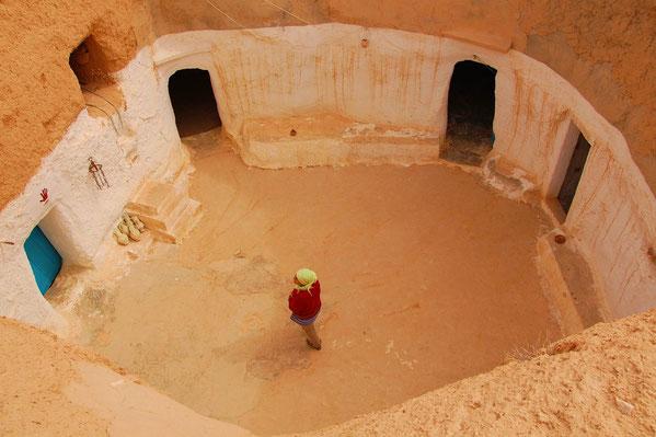 Matmata en Tunisie.