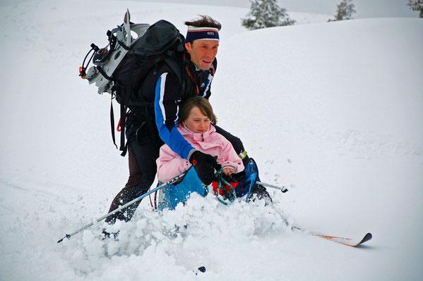 Handi-ski.