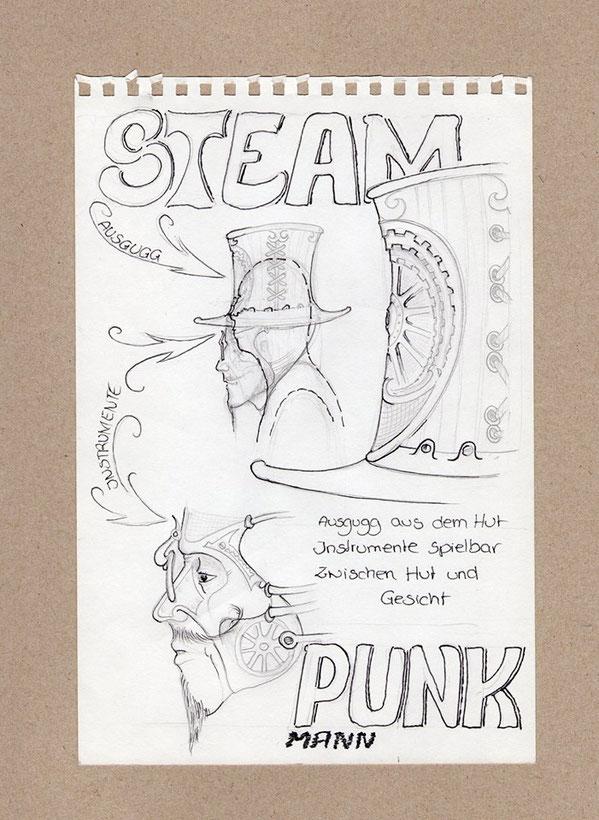 Seam-Punk-Mann