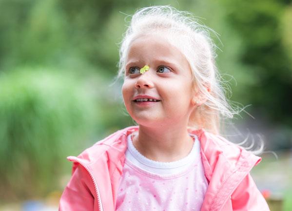 Kindergartenfotos im Freien