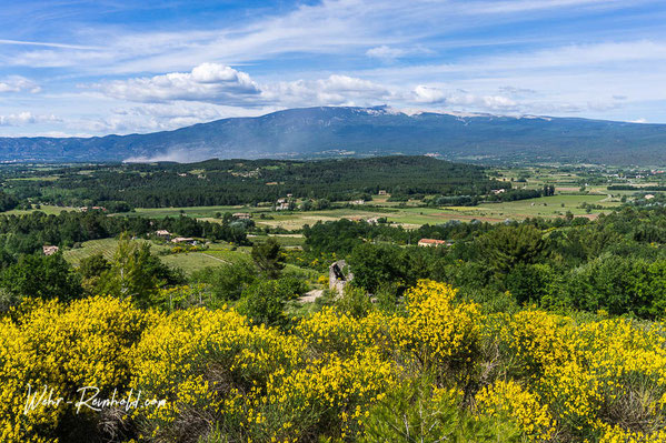 Bild: Blick auf Mont Ventoux
