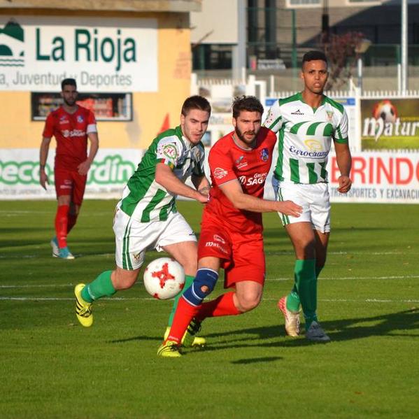 Iñigo Rodríguez suma 7 goles hasta el momento: Foto: larioja.com