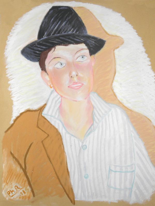 41 - Portrait - Pastel 2013