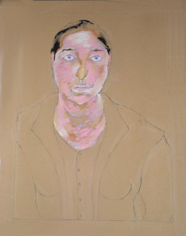 43 Maria - Portrait - Pastel 2014 Version 1