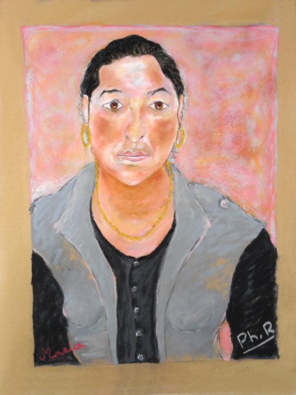 43 Maria - Portrait - Pastel 2014 Version 2 FINAL
