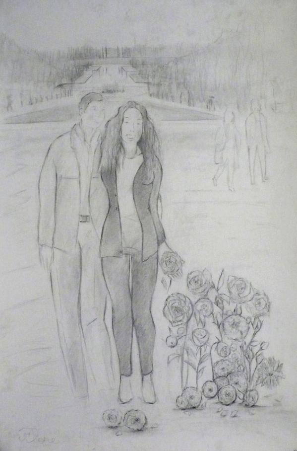 8 - Flore ou les amants n°2