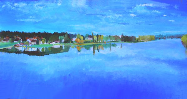 36 - L'étang de Sault l'automne