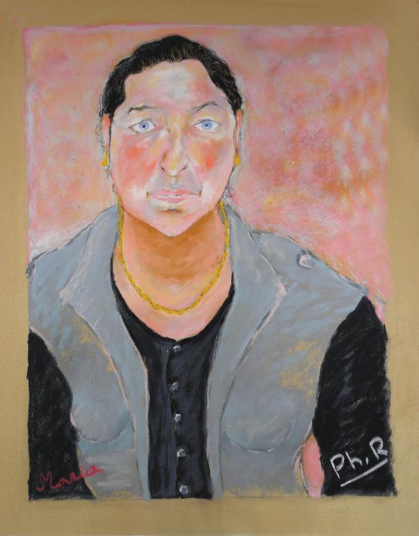 43 Maria - Portrait - Pastel 2014 Version 1 FINAL