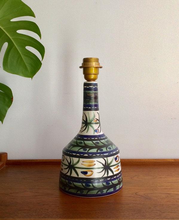 Keraluc, pied de lampe, lampe vintage, Paul Yvain