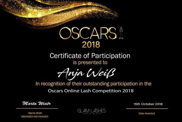 Lash Oscars 2018