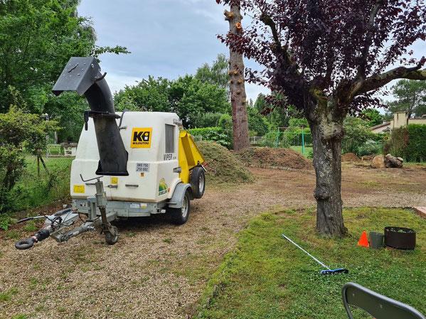 Rognage elagage enlever souche saint-gaudens lannemezan