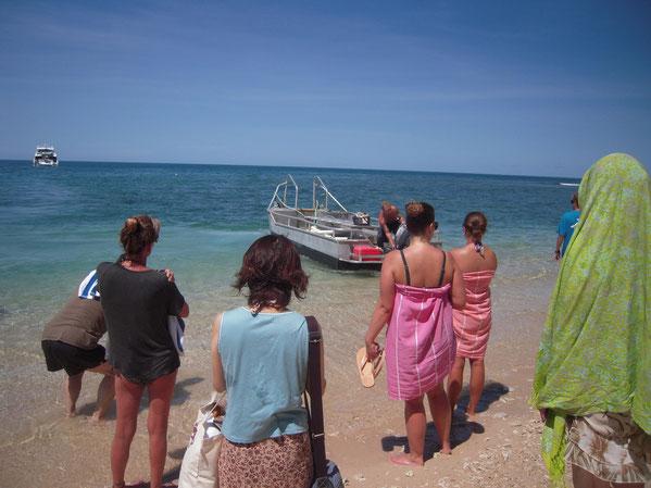 渡し舟(ボート)の写真