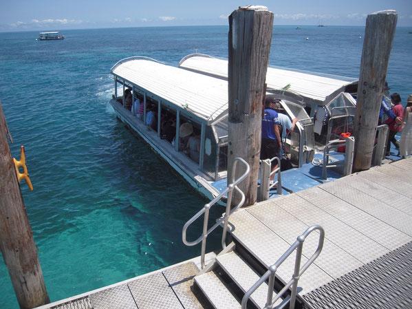 グラスボトムボートの写真
