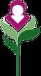 Das Huntington-Logo als Hinweis auf den Internationalen Verband für die Huntington-Krankheit / Chorea Huntington