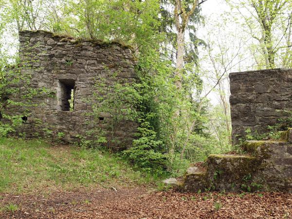 Mauern, Ruine Irslingen