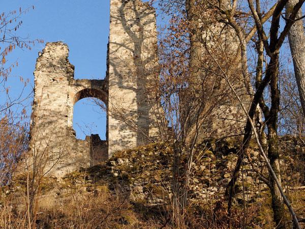 Reste des renaissancezeitlichen Schlosses