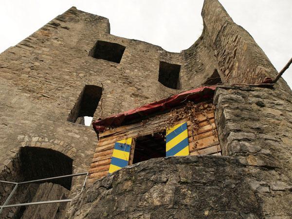 Hauptgebäude, Ruine Herrenzimmern