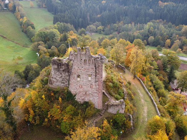 Ruine Schenkenburg / Schenkenzell