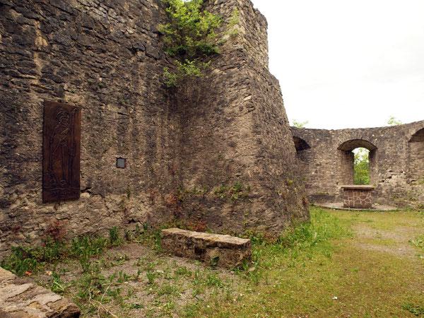 Ehemalige Burgkapelle (nicht gesichert), Ruine Herrenzimmern