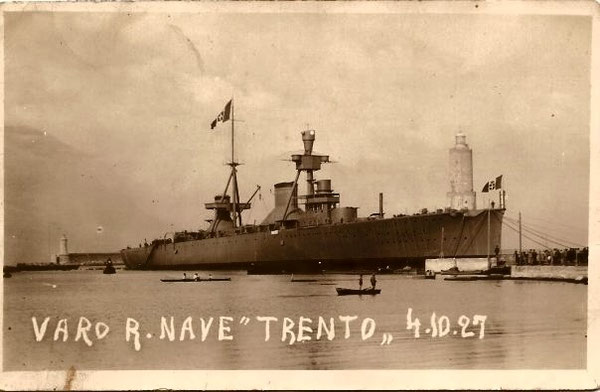 VARO NAVE TRENTO 1927