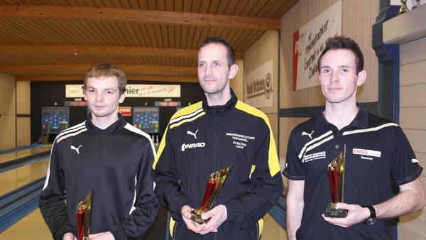 Sieger Männer 1-3