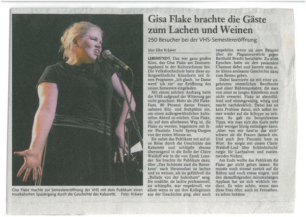 Salzgitter Zeitung, Februar 2012