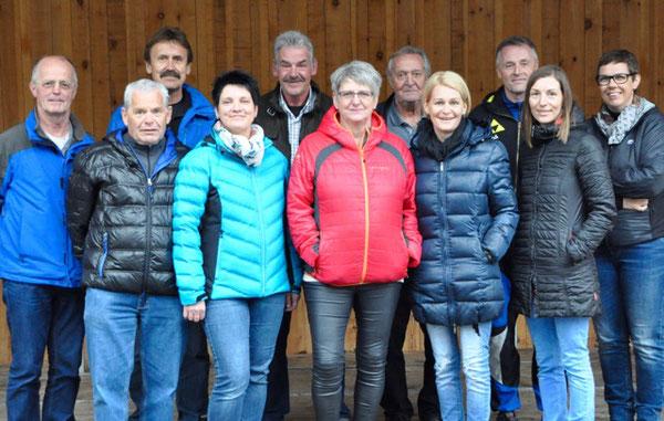 Erweiterter Vorstand BMX-Club Bludenz