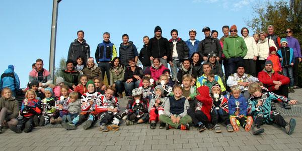 Bludenzer Aufgebot beim BMX-Anfängerrennen in Goldach