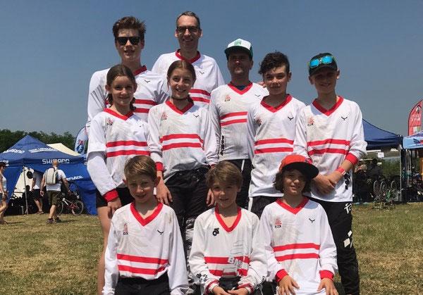 Unser Team beim Europacupeinsatz in Verona