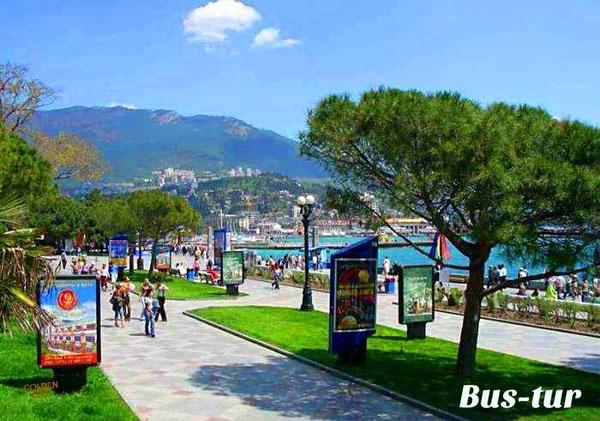 перевозки поездки в Крым в Ялту