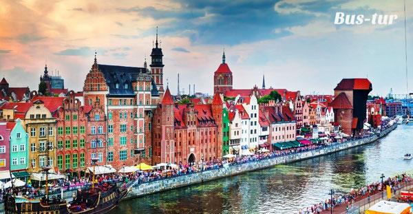 перевозки поездки в Гданьск Польша, из Гданьска