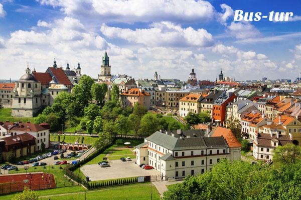 перевозки поездки в Люблин Польша, из Люблина