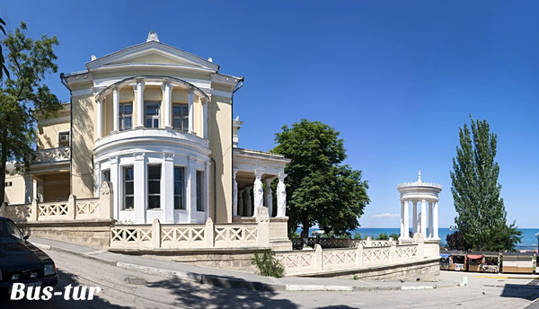 перевозки поездки в Крым в Феодосию