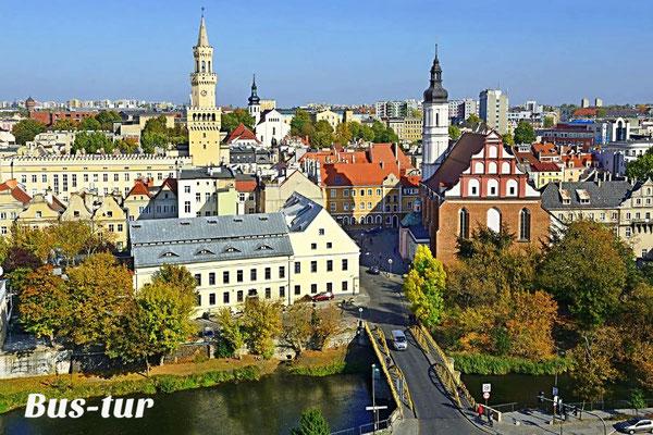 перевозки поездки в Ополе Польша, из Ополе