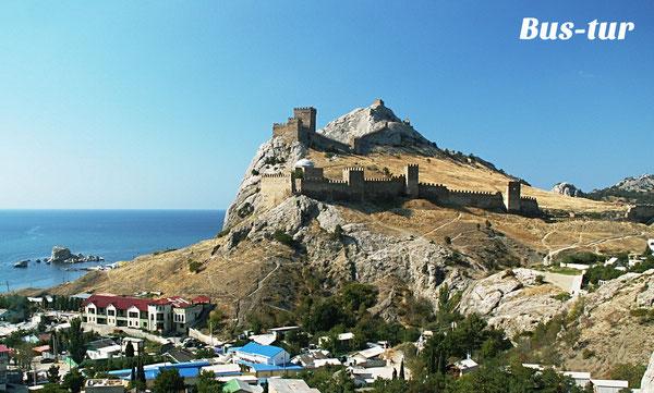перевозки поездки в Крым в Судак