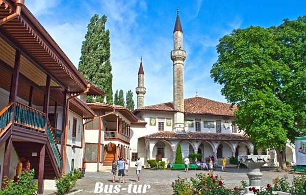 перевозки поездки в Крым в Бахчисарай