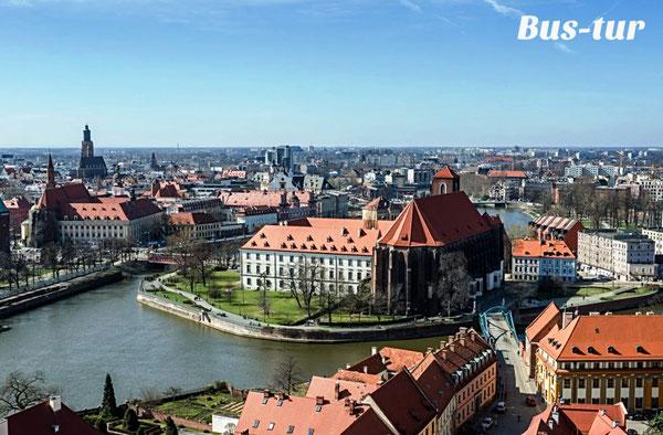 перевозки поездки в Вроцлав, из Вроцлава