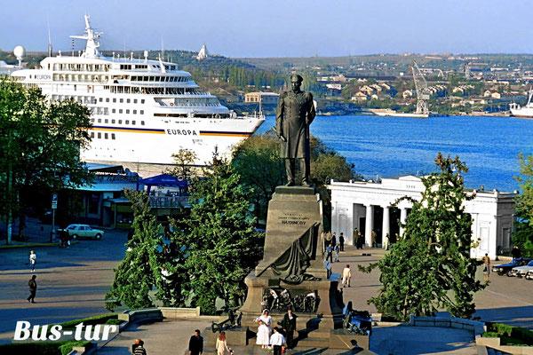 перевозки поездки в Крым в Севастополь