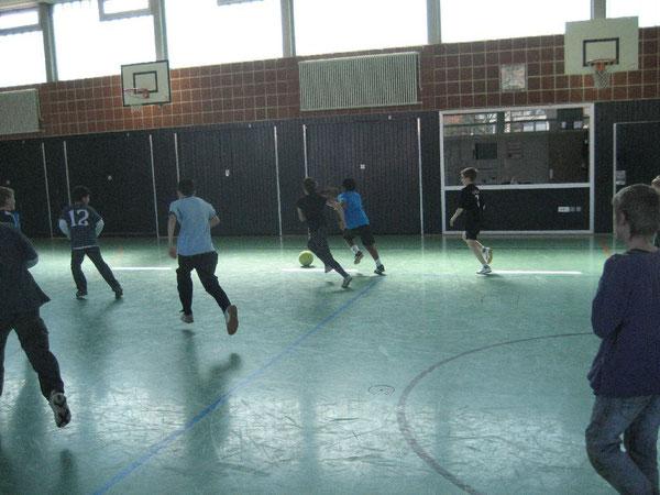Prima Einsatz bei den Kickern