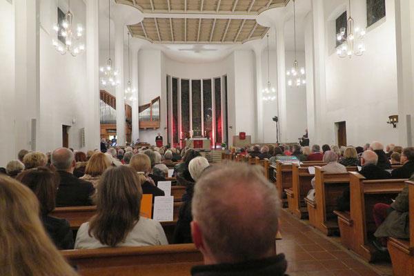 Der Reformationstags-Gottesdienst in der Christuskirche
