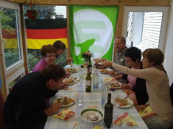 Das spanische Essen mundete den Teilnehmerinnen und Teilnehmern vorzüglich