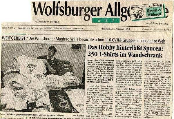 Die WAZ berichtete schon ausführlich über das Hobby von Manfred Wille