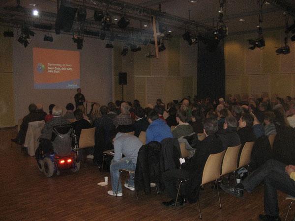 Pro Christ 2013 in Westhagen: Menschen haben Frieden bei Gott gefunden.